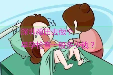 深圳福田去做个早孕检查一般多少钱